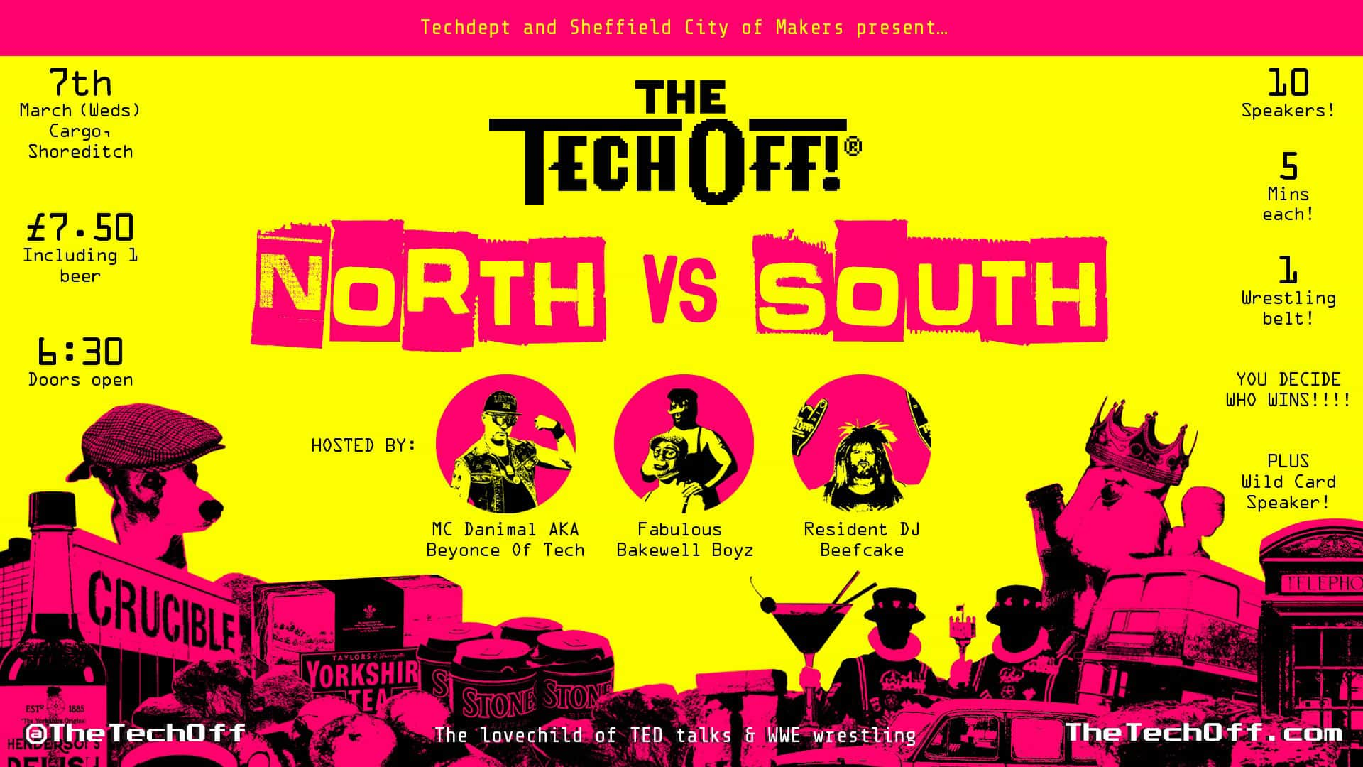 The Tech Off: North vs South